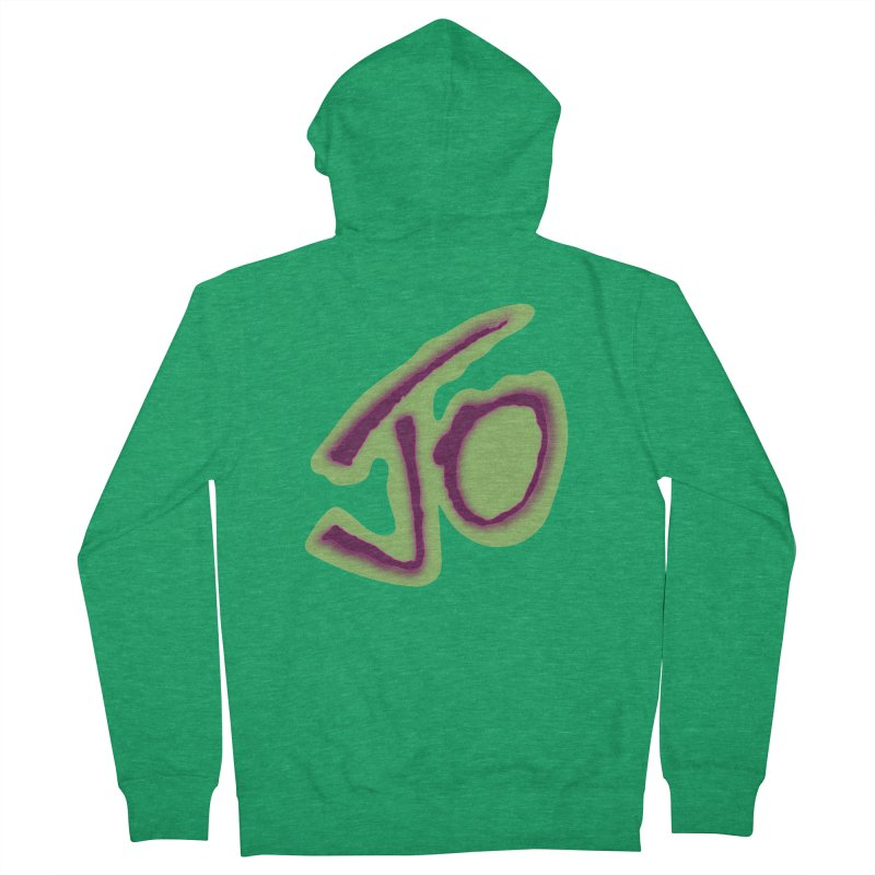 Joint Operation Purp and Guac Yo Women's French Terry Zip-Up Hoody by MD Design Labs's Artist Shop