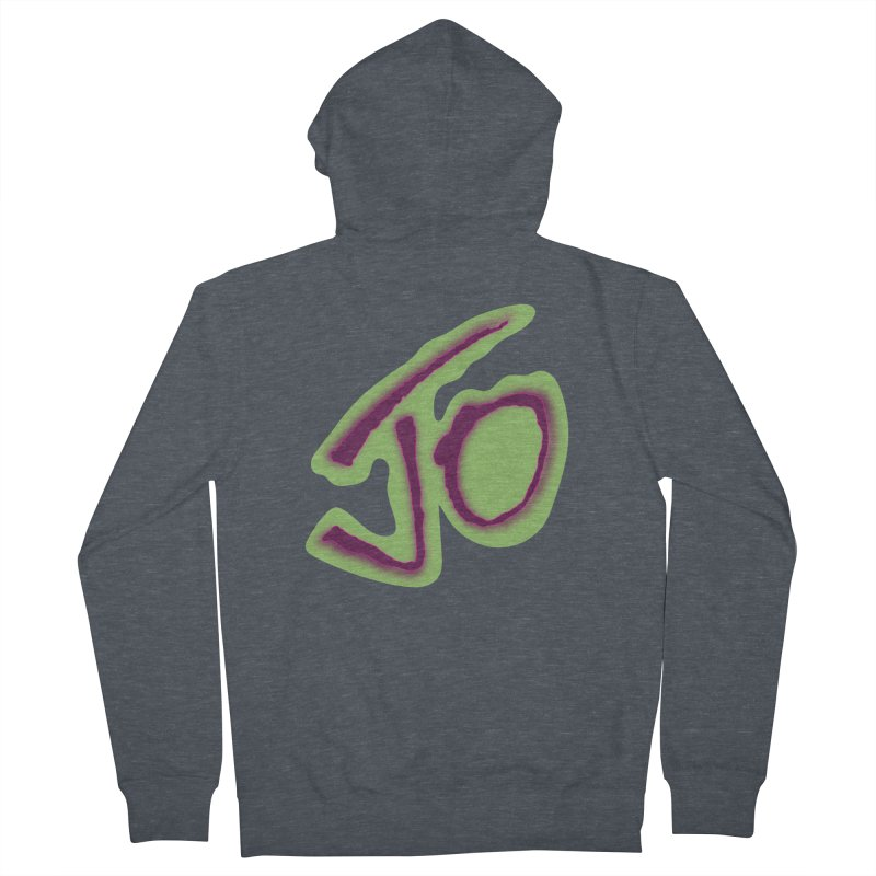 Joint Operation Purp and Guac Yo Men's French Terry Zip-Up Hoody by MD Design Labs's Artist Shop