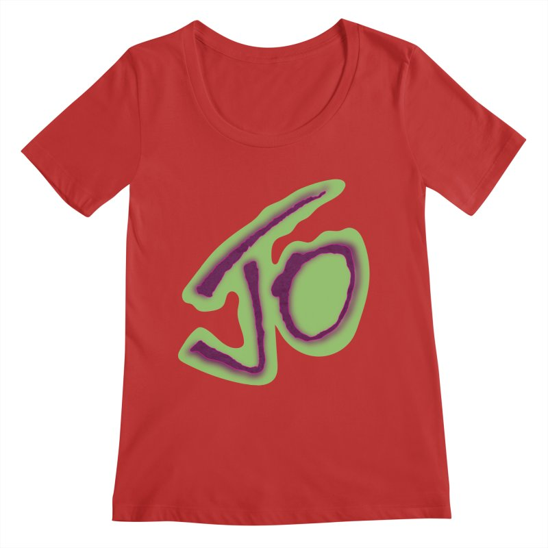 Joint Operation Purp and Guac Yo Women's Regular Scoop Neck by MD Design Labs's Artist Shop