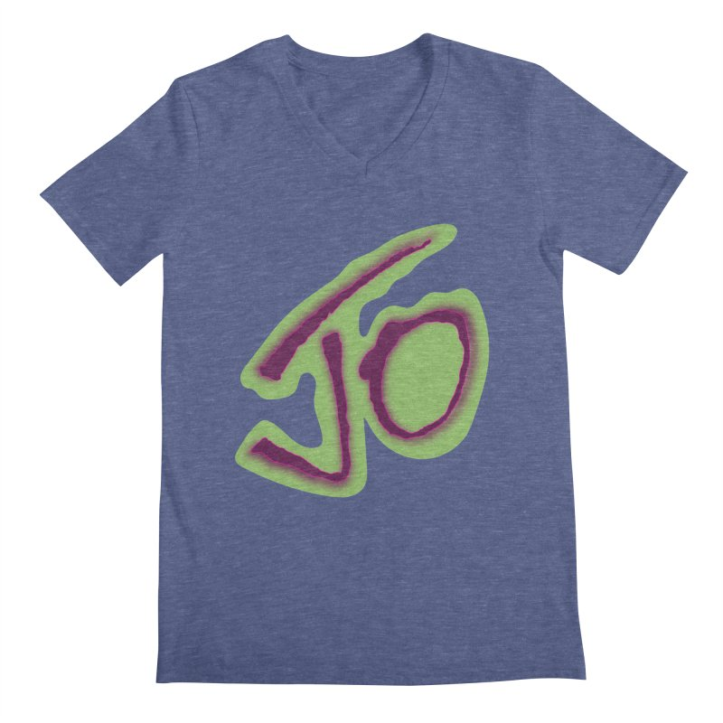 Joint Operation Purp and Guac Yo Men's Regular V-Neck by MD Design Labs's Artist Shop