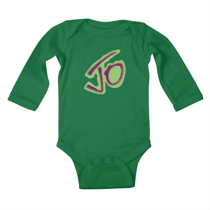 Joint Operation Purp and Guac Yo Kids Baby Longsleeve Bodysuit by MD Design Labs's Artist Shop