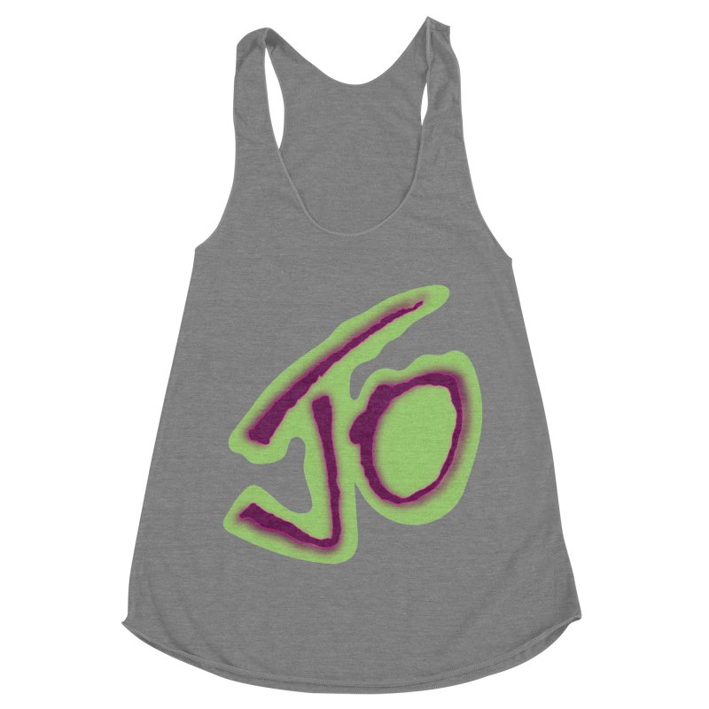 Joint Operation Purp and Guac Yo Women's Racerback Triblend Tank by MD Design Labs's Artist Shop