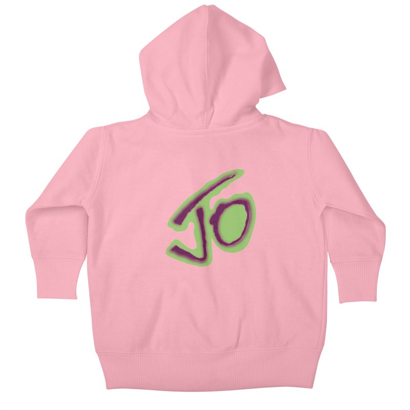 Joint Operation Purp and Guac Yo Kids Baby Zip-Up Hoody by MD Design Labs's Artist Shop