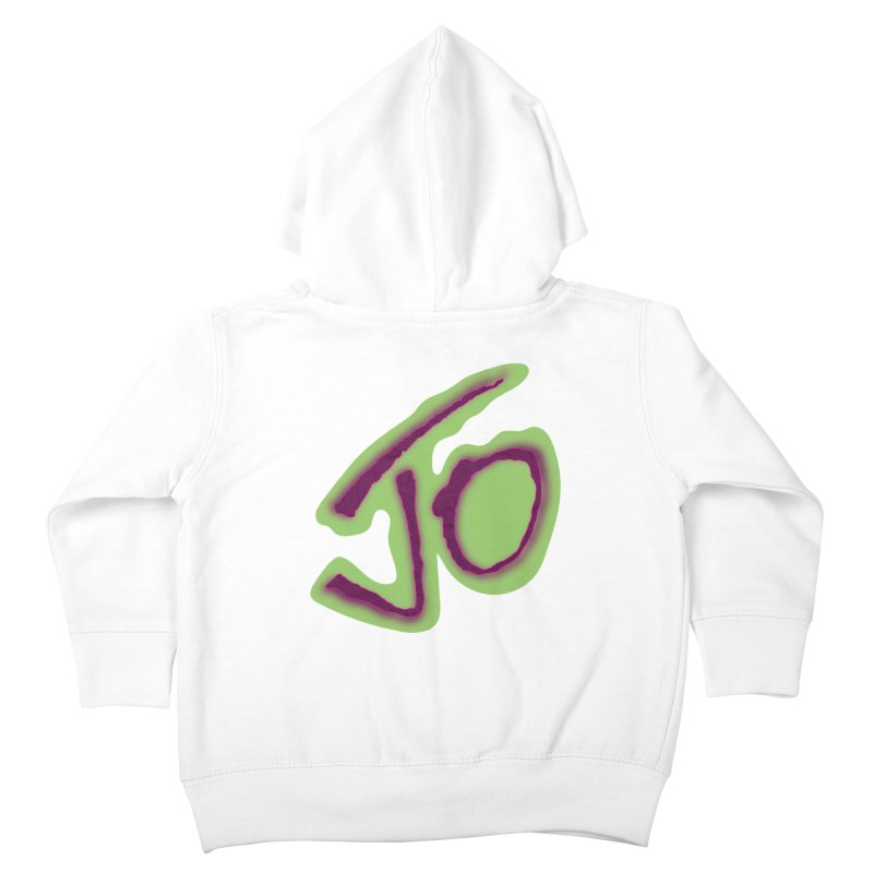 Joint Operation Purp and Guac Yo Kids Toddler Zip-Up Hoody by MD Design Labs's Artist Shop