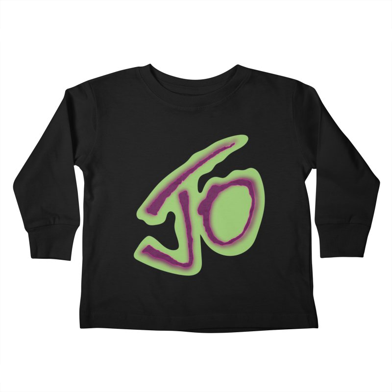 Joint Operation Purp and Guac Yo Kids Toddler Longsleeve T-Shirt by MD Design Labs's Artist Shop