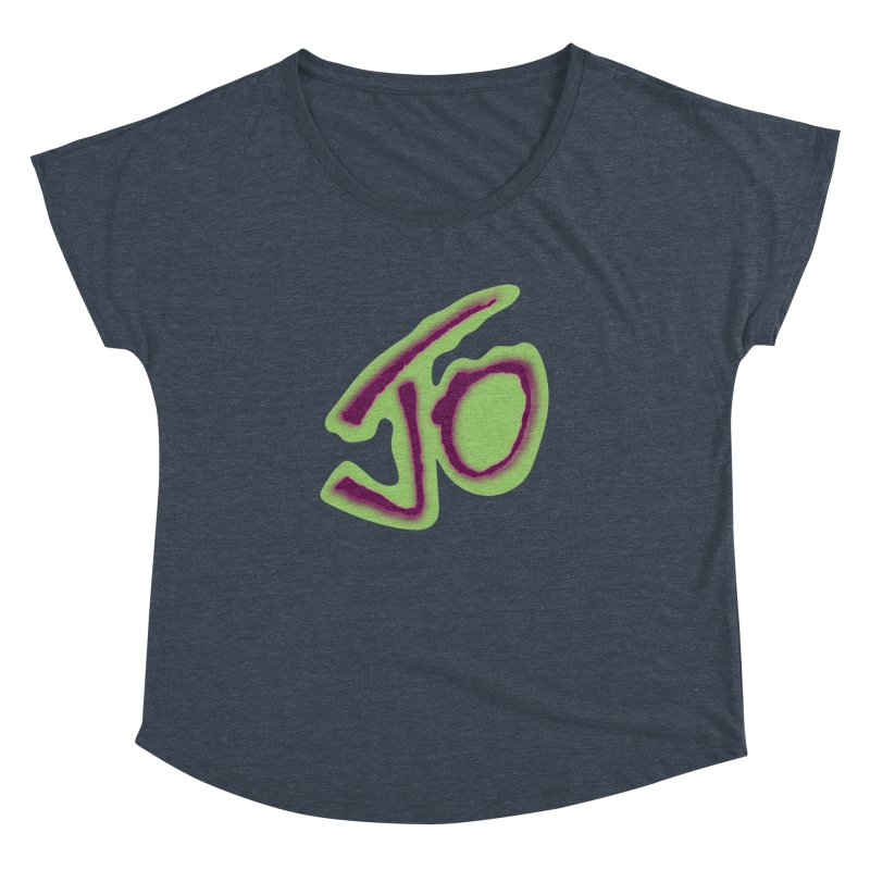 Joint Operation Purp and Guac Yo Women's Dolman Scoop Neck by MD Design Labs's Artist Shop