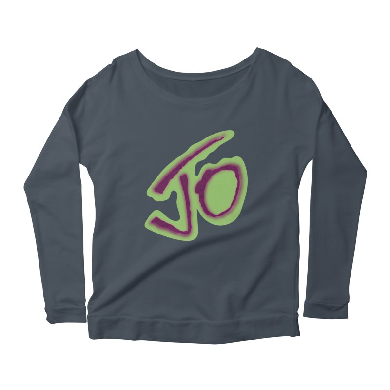 Joint Operation Purp and Guac Yo Women's Scoop Neck Longsleeve T-Shirt by MD Design Labs's Artist Shop