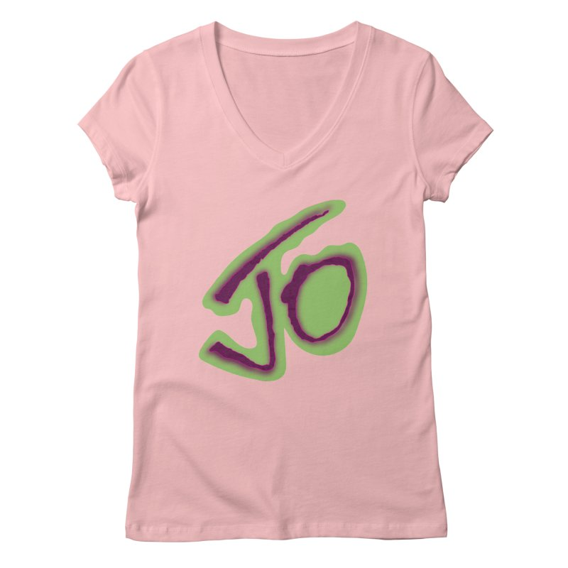 Joint Operation Purp and Guac Yo Women's Regular V-Neck by MD Design Labs's Artist Shop