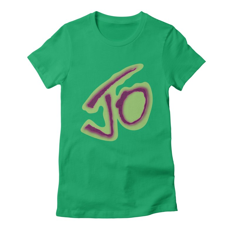 Joint Operation Purp and Guac Yo Women's Fitted T-Shirt by MD Design Labs's Artist Shop