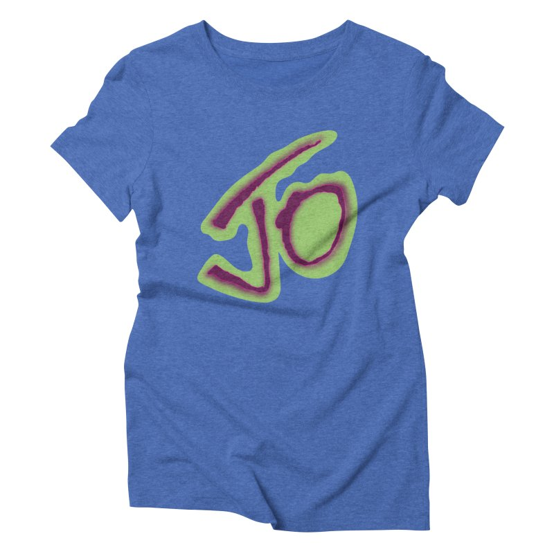 Joint Operation Purp and Guac Yo Women's Triblend T-Shirt by MD Design Labs's Artist Shop
