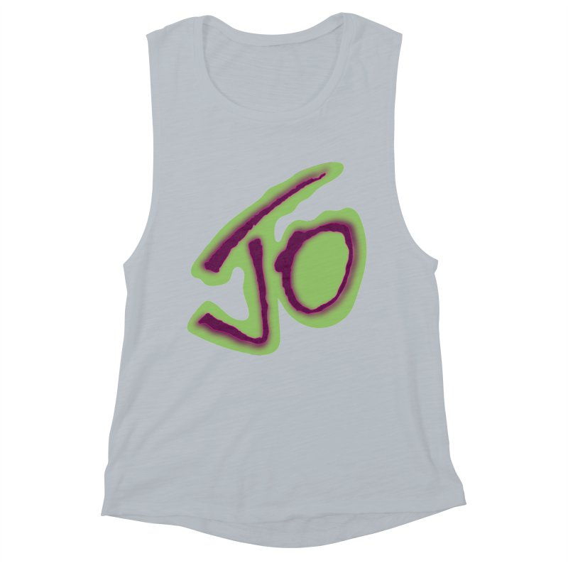 Joint Operation Purp and Guac Yo Women's Muscle Tank by MD Design Labs's Artist Shop