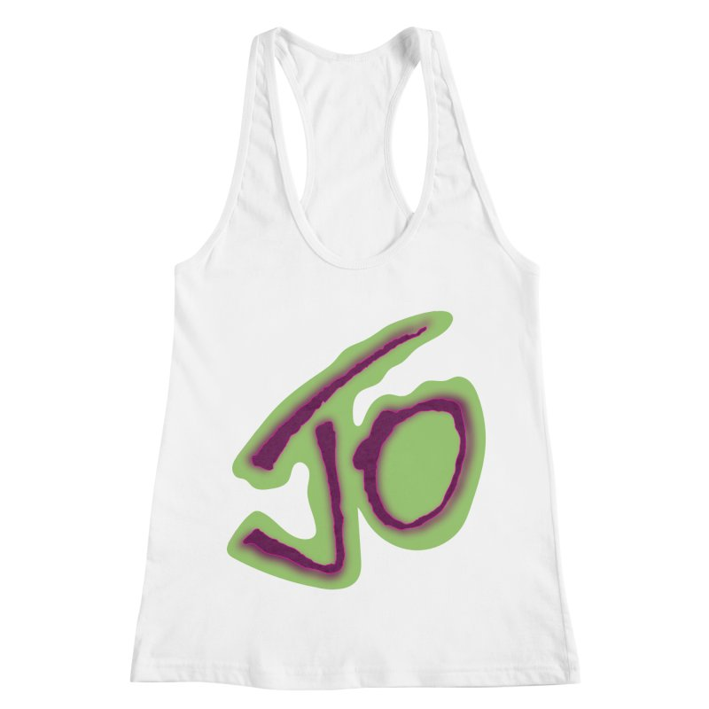 Joint Operation Purp and Guac Yo Women's Racerback Tank by MD Design Labs's Artist Shop
