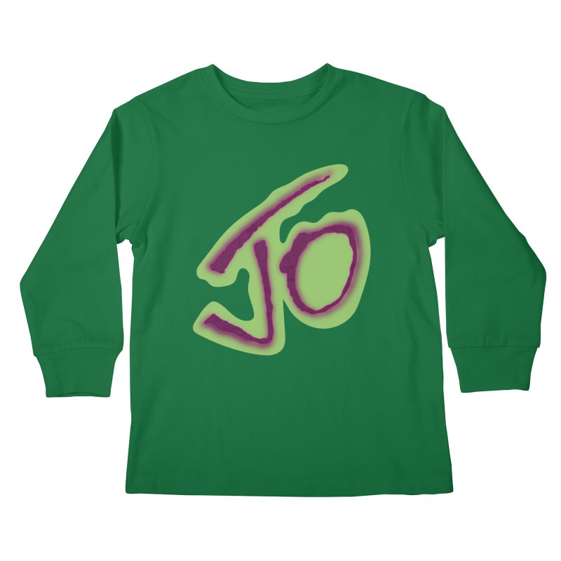 Joint Operation Purp and Guac Yo Kids Longsleeve T-Shirt by MD Design Labs's Artist Shop