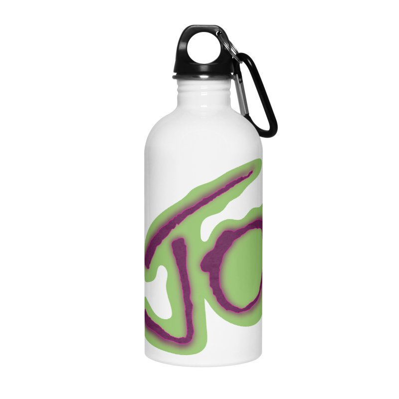 Joint Operation Purp and Guac Yo Accessories Water Bottle by MD Design Labs's Artist Shop