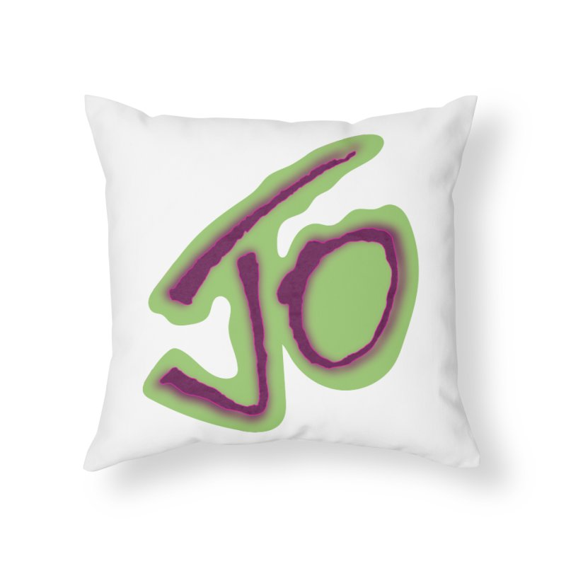 Joint Operation Purp and Guac Yo Home Throw Pillow by MD Design Labs's Artist Shop