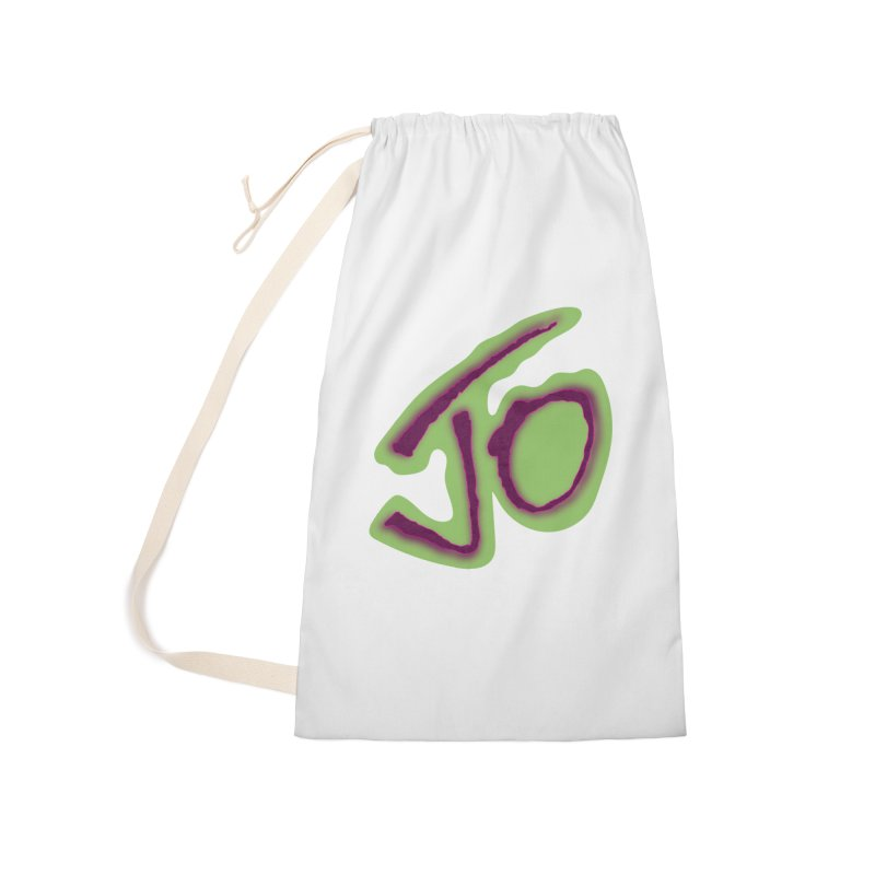 Joint Operation Purp and Guac Yo Accessories Laundry Bag Bag by MD Design Labs's Artist Shop