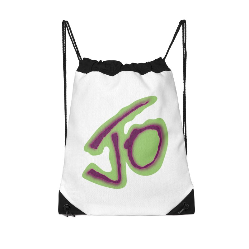 Joint Operation Purp and Guac Yo Accessories Drawstring Bag Bag by MD Design Labs's Artist Shop