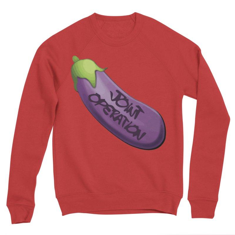 Joint Operation Egg Plant Women's Sponge Fleece Sweatshirt by MD Design Labs's Artist Shop