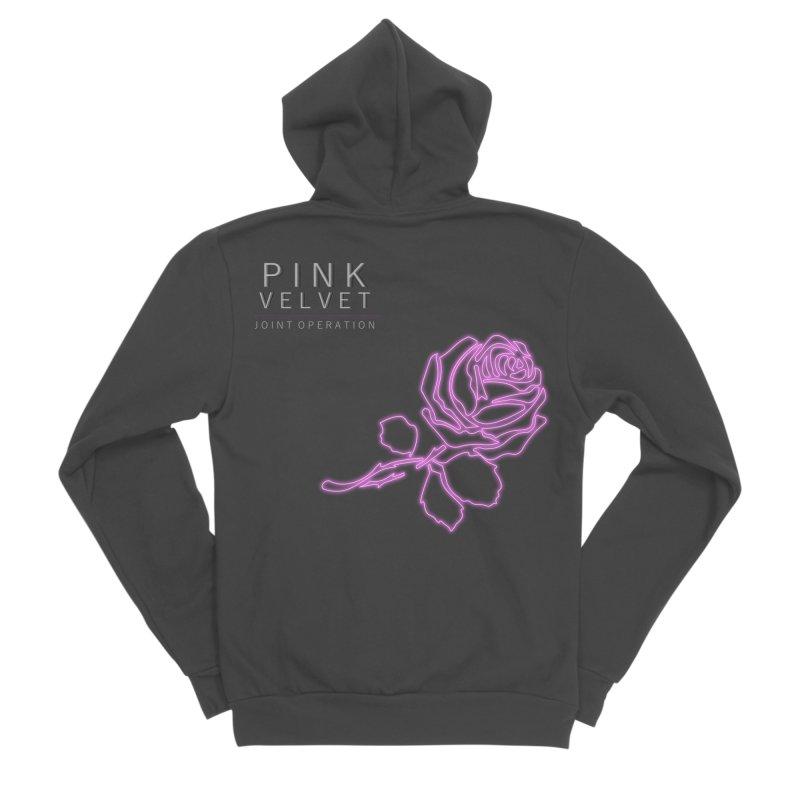 Pink Velvet - Joint Operation Single Men's Sponge Fleece Zip-Up Hoody by MD Design Labs's Artist Shop