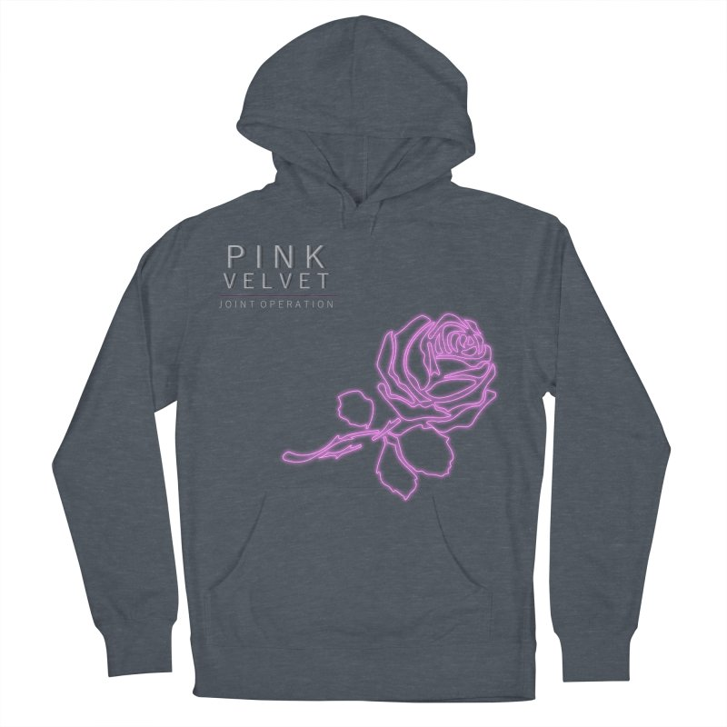 Pink Velvet - Joint Operation Single Women's French Terry Pullover Hoody by MD Design Labs's Artist Shop