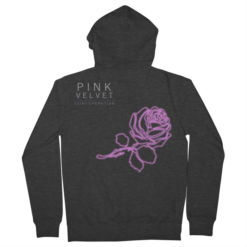Pink Velvet - Joint Operation Single Women's French Terry Zip-Up Hoody by MD Design Labs's Artist Shop