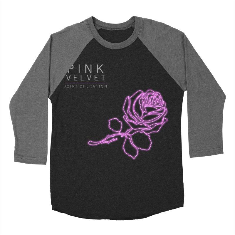 Pink Velvet - Joint Operation Single Men's Baseball Triblend Longsleeve T-Shirt by MD Design Labs's Artist Shop
