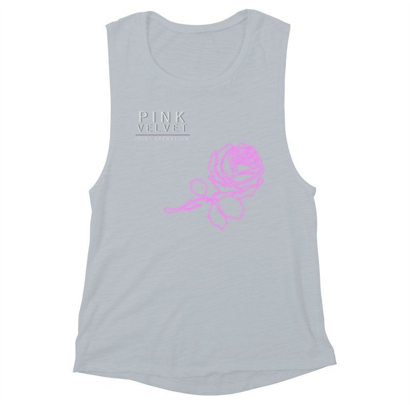 Pink Velvet - Joint Operation Single Women's Muscle Tank by MD Design Labs's Artist Shop