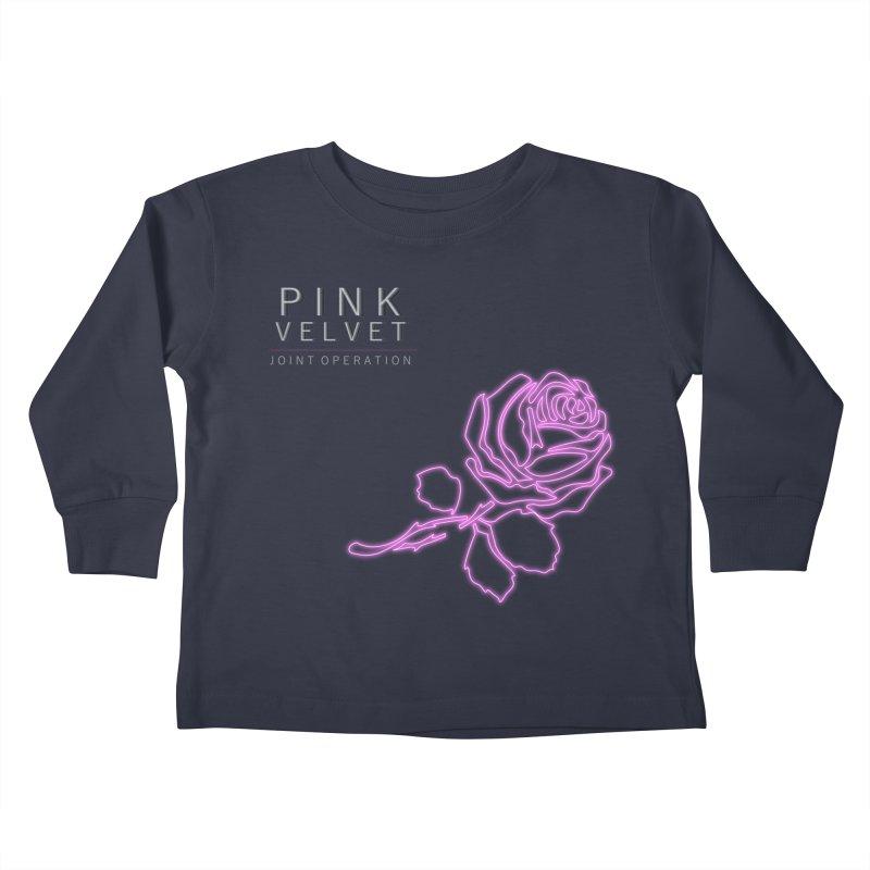 Pink Velvet - Joint Operation Single Kids Toddler Longsleeve T-Shirt by MD Design Labs's Artist Shop