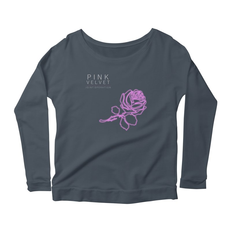 Pink Velvet - Joint Operation Single Women's Scoop Neck Longsleeve T-Shirt by MD Design Labs's Artist Shop