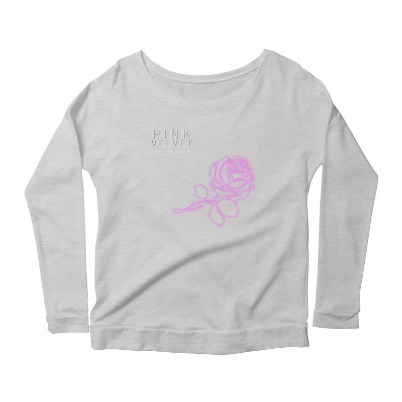 Pink Velvet - Joint Operation Single Women's Scoop Neck Longsleeve T-Shirt by MD Design Labs's Artist Shop