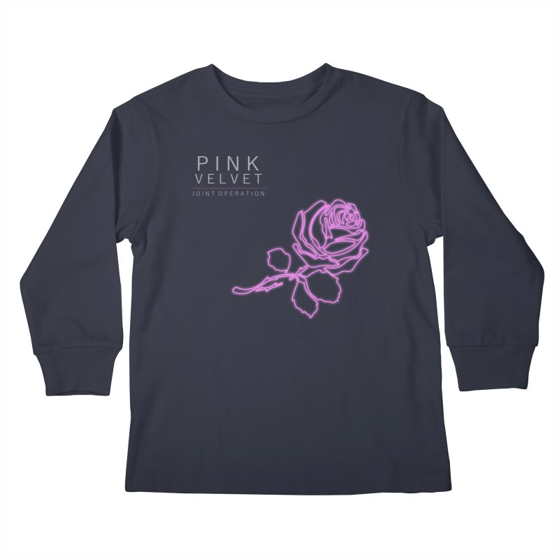 Pink Velvet - Joint Operation Single Kids Longsleeve T-Shirt by MD Design Labs's Artist Shop