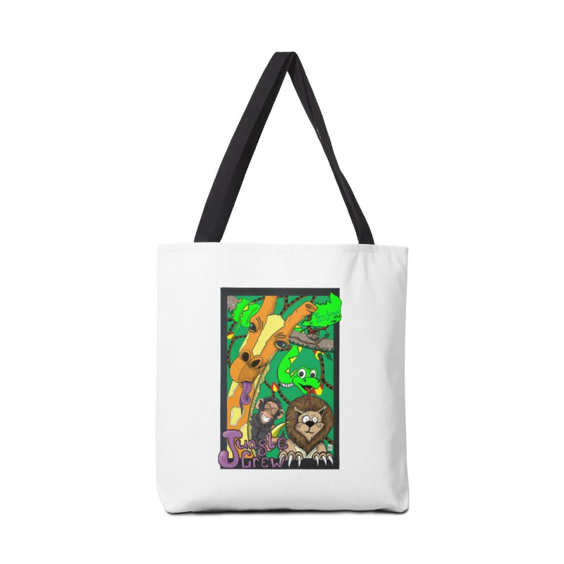 Jungle Crew Accessories Tote Bag Bag by MD Design Labs's Artist Shop