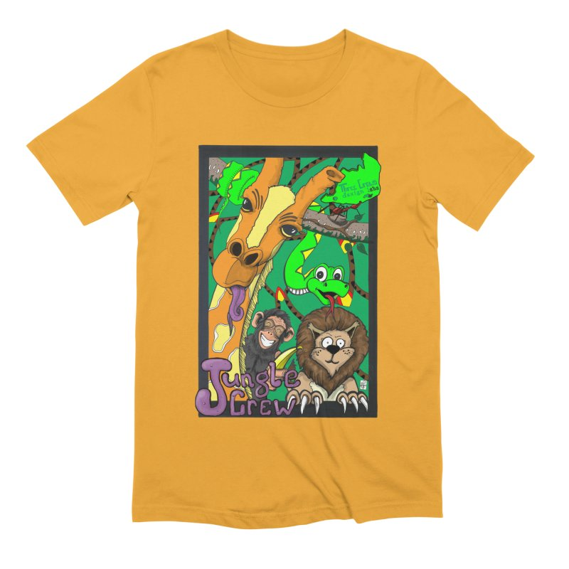 Jungle Crew Men's Extra Soft T-Shirt by MD Design Labs's Artist Shop
