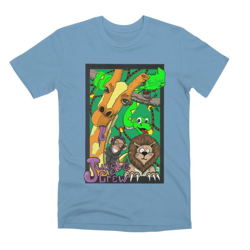 Jungle Crew Men's Premium T-Shirt by MD Design Labs's Artist Shop
