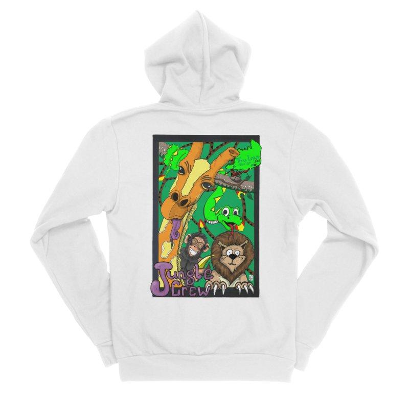 Jungle Crew Men's Sponge Fleece Zip-Up Hoody by MD Design Labs's Artist Shop