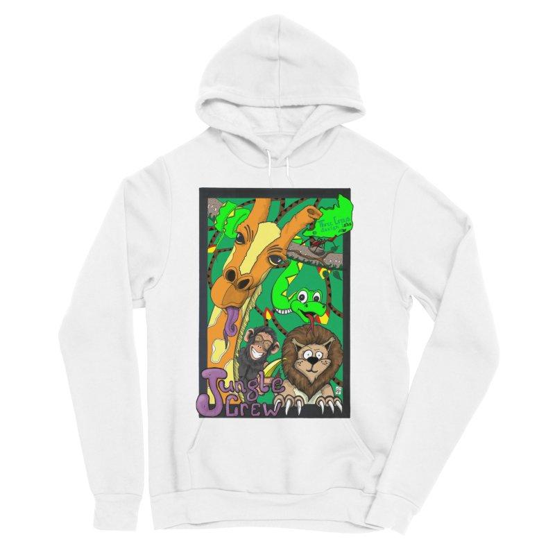 Jungle Crew Men's Sponge Fleece Pullover Hoody by MD Design Labs's Artist Shop