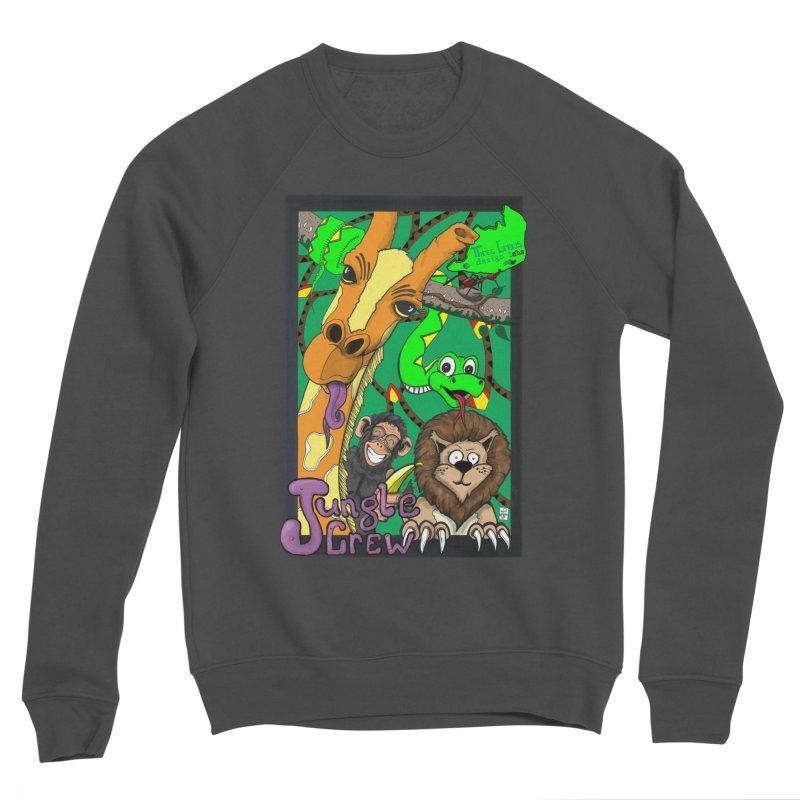 Jungle Crew Men's Sponge Fleece Sweatshirt by MD Design Labs's Artist Shop