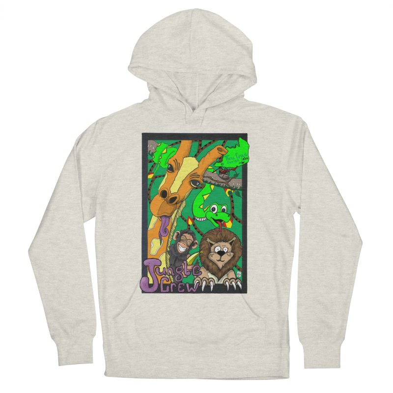 Jungle Crew Women's French Terry Pullover Hoody by MD Design Labs's Artist Shop