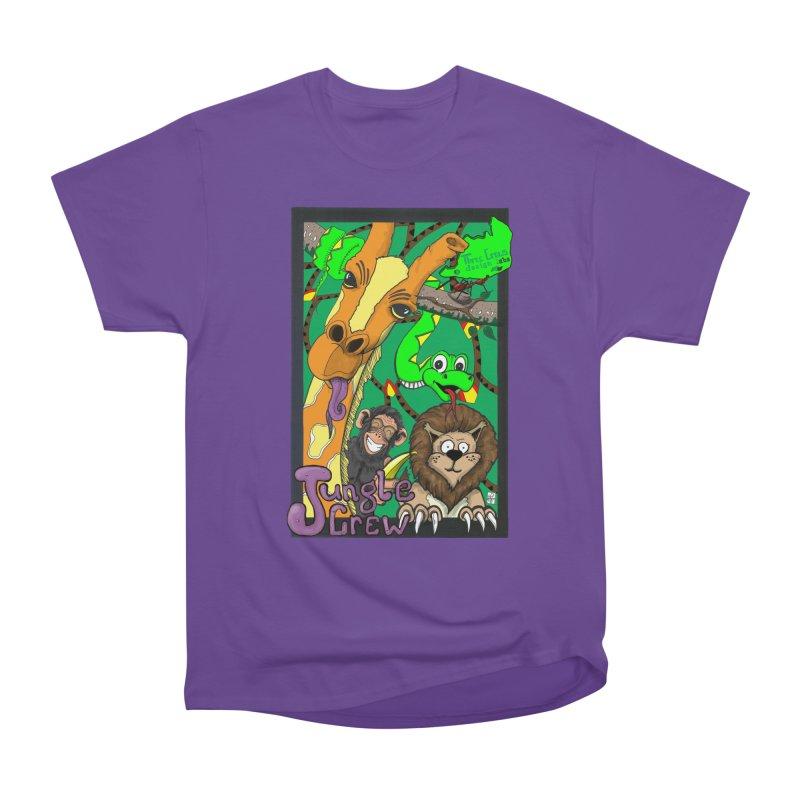 Jungle Crew Women's Heavyweight Unisex T-Shirt by MD Design Labs's Artist Shop