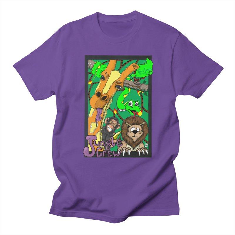 Jungle Crew Men's Regular T-Shirt by MD Design Labs's Artist Shop