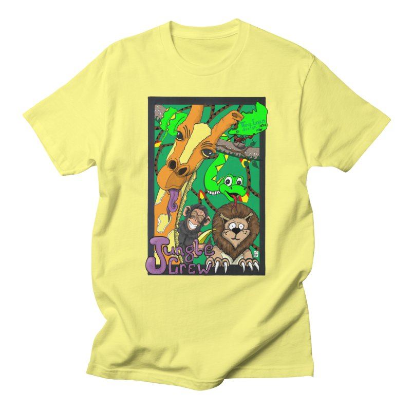 Jungle Crew Women's T-Shirt by MD Design Labs's Artist Shop