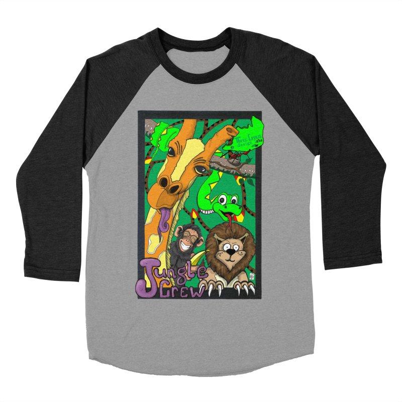Jungle Crew Men's Baseball Triblend Longsleeve T-Shirt by MD Design Labs's Artist Shop