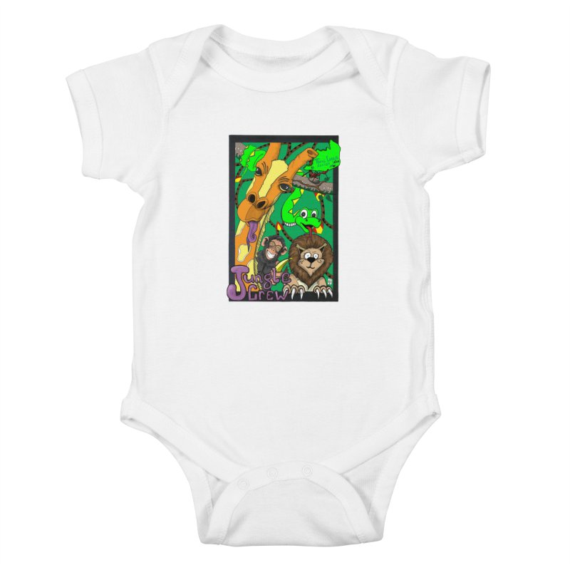 Jungle Crew Kids Baby Bodysuit by MD Design Labs's Artist Shop