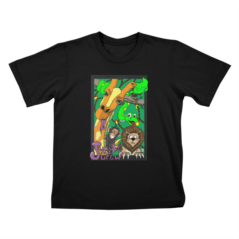 Jungle Crew Kids T-Shirt by MD Design Labs's Artist Shop