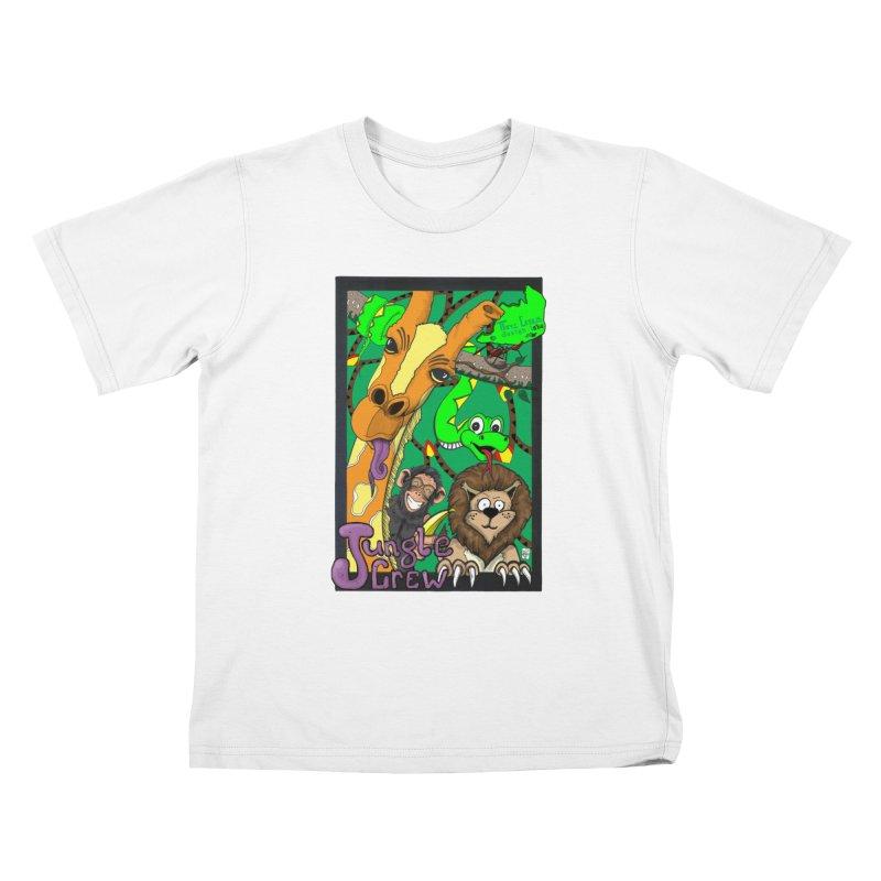 Jungle Crew Kids T-Shirt by MD Design Labs's Artist Shop
