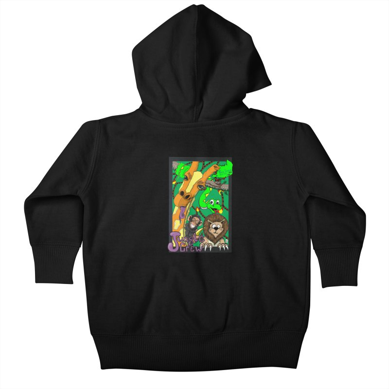 Jungle Crew Kids Baby Zip-Up Hoody by MD Design Labs's Artist Shop