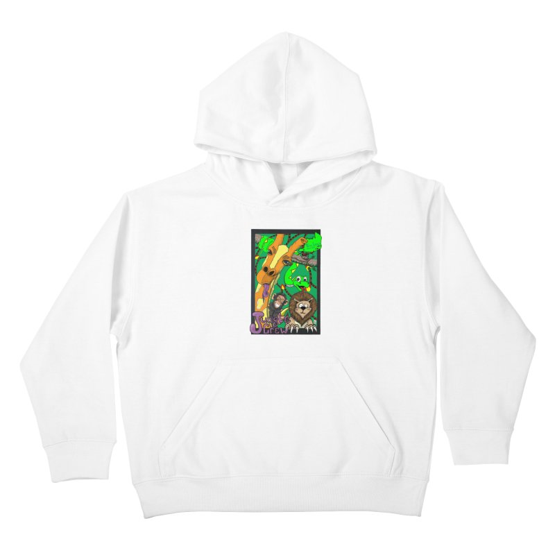 Jungle Crew Kids Pullover Hoody by MD Design Labs's Artist Shop