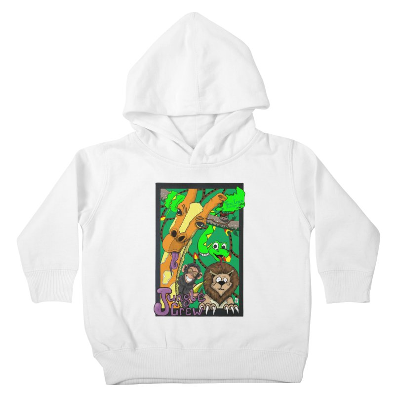 Jungle Crew Kids Toddler Pullover Hoody by MD Design Labs's Artist Shop