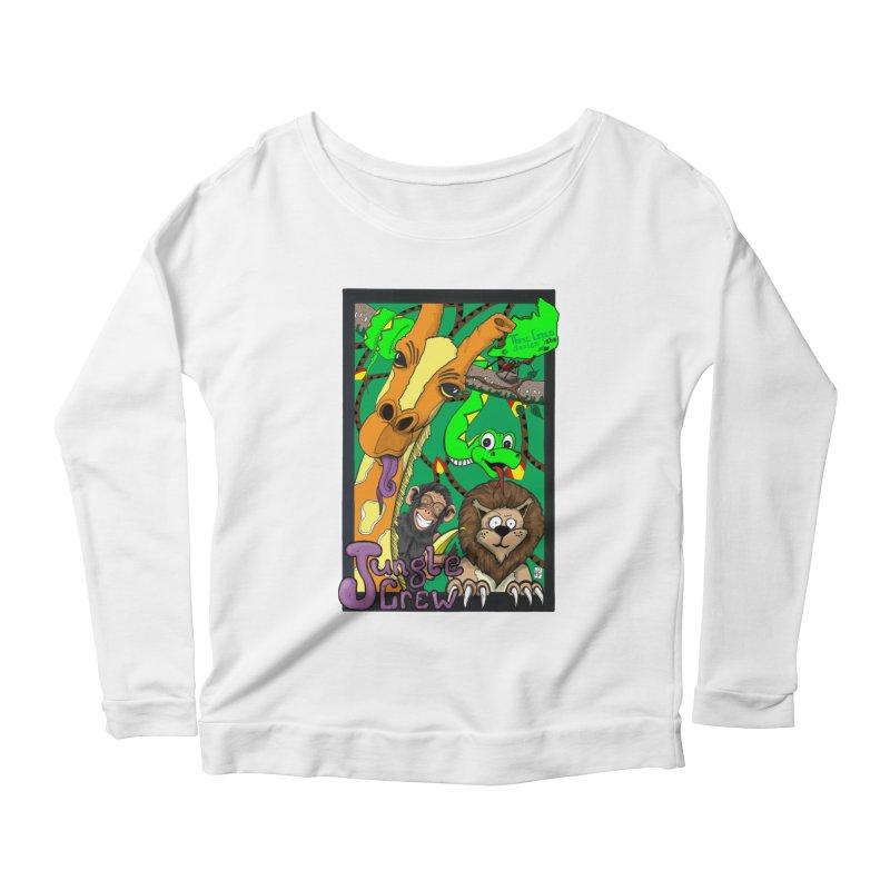 Jungle Crew Women's Scoop Neck Longsleeve T-Shirt by MD Design Labs's Artist Shop