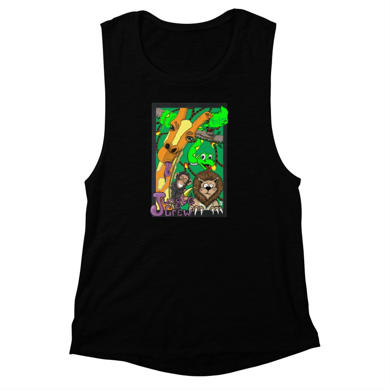 Jungle Crew Women's Muscle Tank by MD Design Labs's Artist Shop